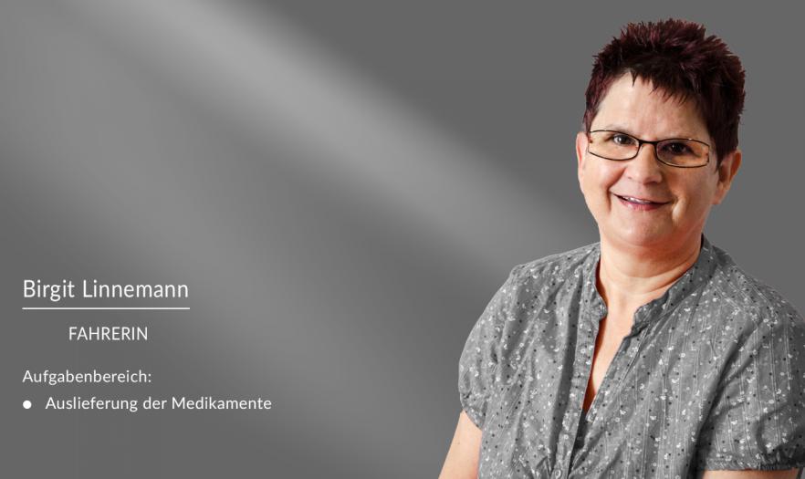 Birgit Linnemann: Mitarbeiterin in der Apotheke am Burghof