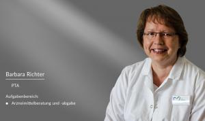 Barbara Richter: PTA in der Apotheke am Burghof