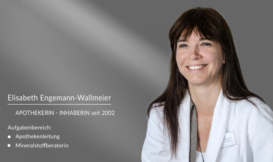 Elisabeth Engemann-Wallmeier: Apothekerin und Inhaberin