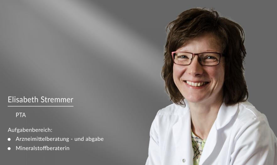 Elisabeth Stremmer: PTA in der Apotheke am Burghof