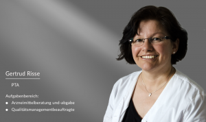 Gertrud Risse: PTA und Qualitätsmanagementbeauftragte