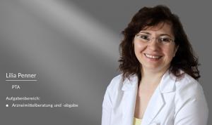 Lilia Penner: PTA in der Apotheke am Burghof