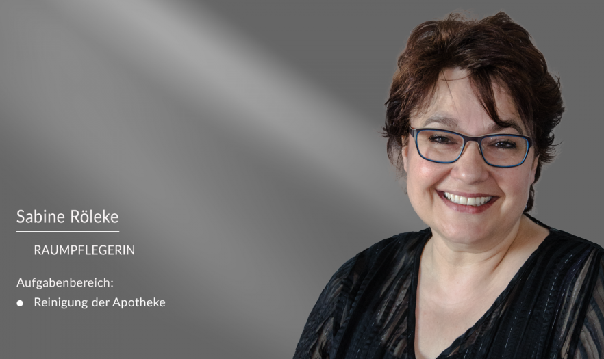Sabine Röleke - Mitarbeiter in der Apotheke am Burghof