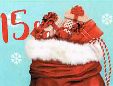 15% auf Weihnachtsgschenke